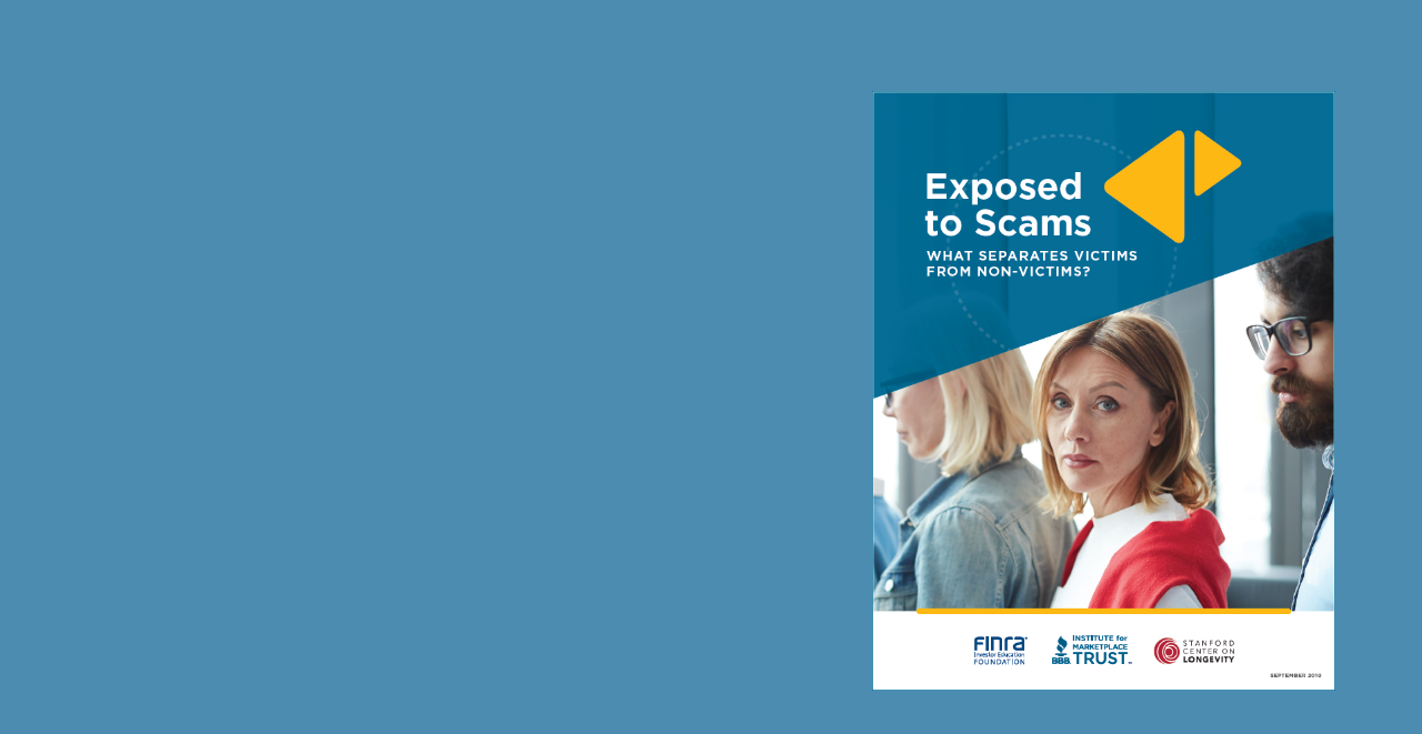 Exposed to Scams: What Separates Victims from Non-Victims?
