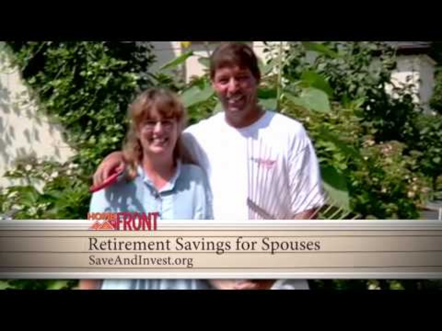Home Front: Retirement Savings for Spouses