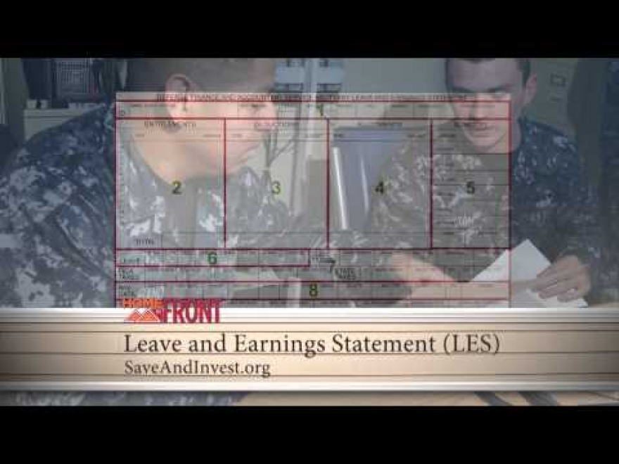 Home Front: Your Leave and Earnings Statement