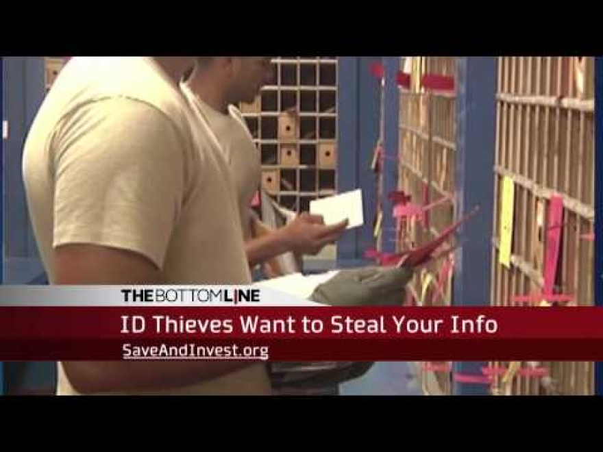 The Bottom Line: Identity Thieves Want to Steal Your Info