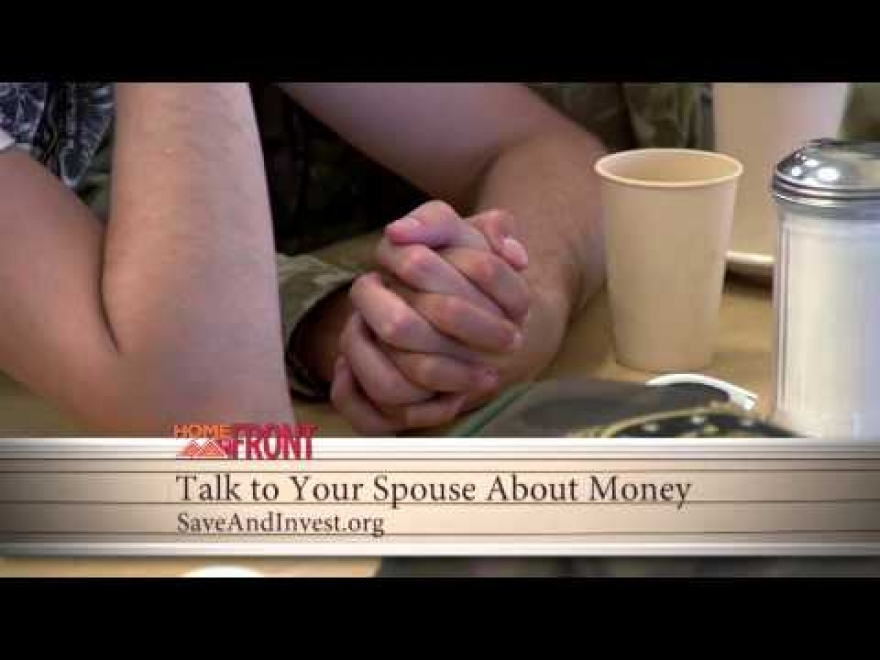 Home Front: Talking to Your Spouse About Money